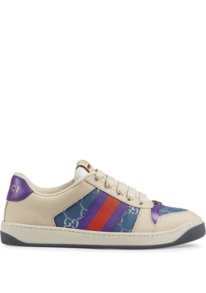 Gucci Screener leather sneakers - White
