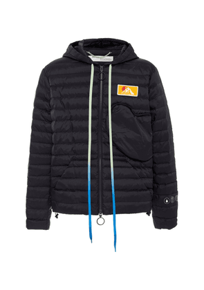 Off-White c/o Virgil Abloh Hooded Quilted Ripstop Down Coat