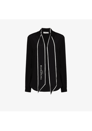 Givenchy scarf detail blouse