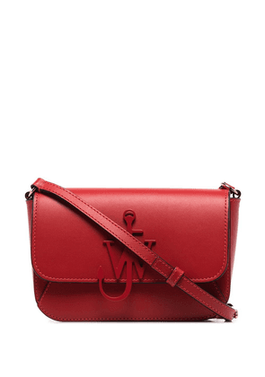 JW Anderson braided Anchor crossbody bag - Red