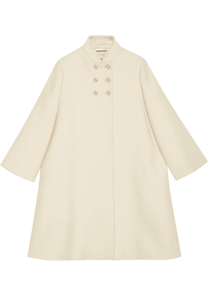 Gucci shift mid-length coat - White