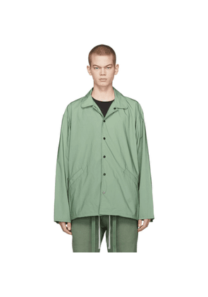 Fear of God Green Coaches Jacket