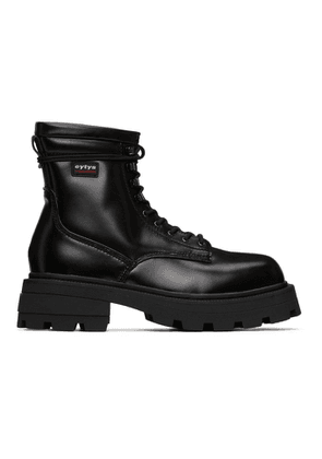Eytys Black Michigan Boots