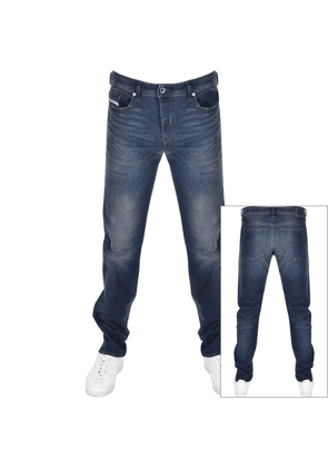 Diesel Buster 0853R Tapered Slim Jeans Blue