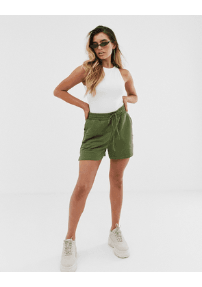 ASOS DESIGN sweat short-Green