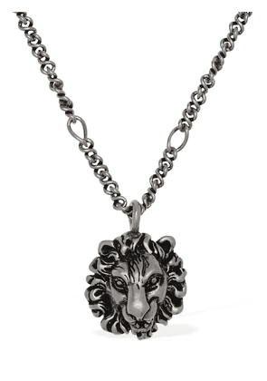 Lionhead Long Chain Necklace