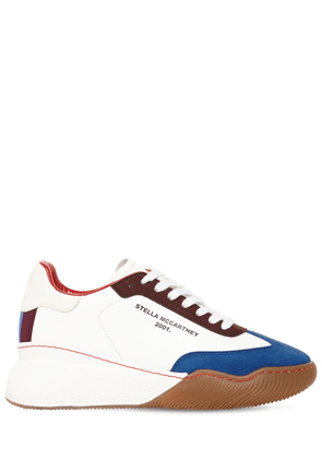 30mm Loop Sporty Faux Leather Sneakers