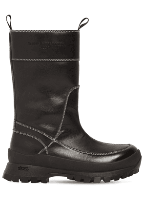 30mm In The Rain Faux Leather Boots