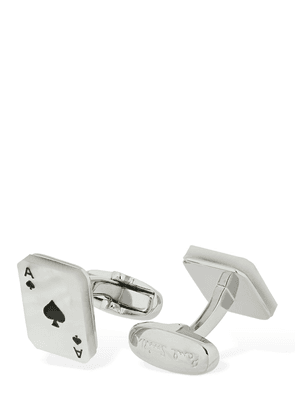 Cards Metal & Mother Pearl Cufflinks