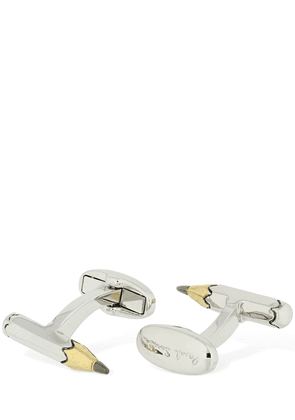 Pencil Metal Cufflinks