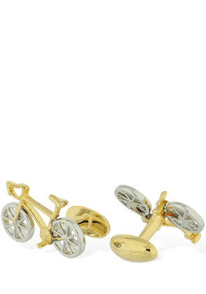 Bicycle Metal Cufflinks