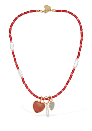 Catalina Necklace W/ Charms