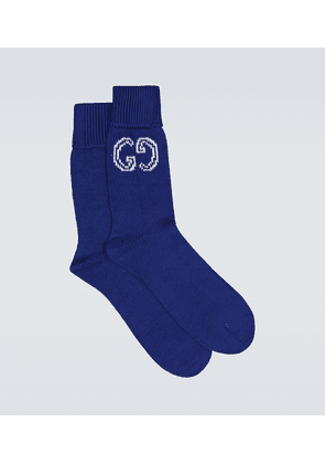 GG cotton knitted socks