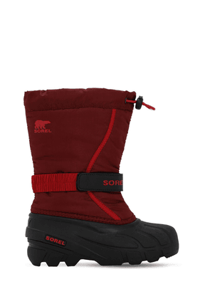 Water & Wind Resistant Nylon Snow Boots