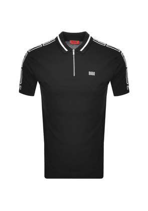 HUGO Dolmar 203 Polo T Shirt Black