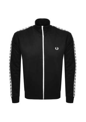 Fred Perry Full Zip Track Top Black