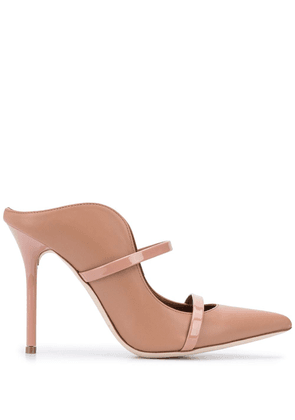 Malone Souliers Maureen 115mm mules - Brown