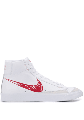 Nike Blazer hi-top sneakers - White