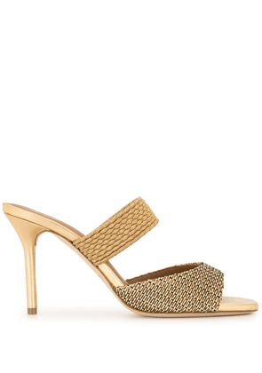 Malone Souliers Milena 85mm sandals - GOLD