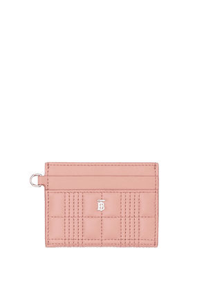 Burberry quilted monogram card holder - PINK