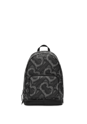 Burberry Monogram-print backpack - Black