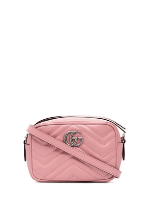 Gucci mini Marmont camera bag - PINK