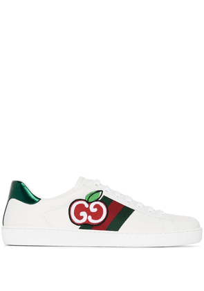 Gucci GG Apple Ace leather sneakers - White