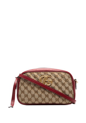 Gucci Marmont GG camera bag - Red