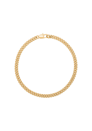 Laura Lombardi curb chain anklet - GOLD
