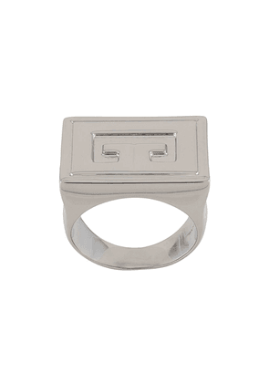 Givenchy signet ring - SILVER