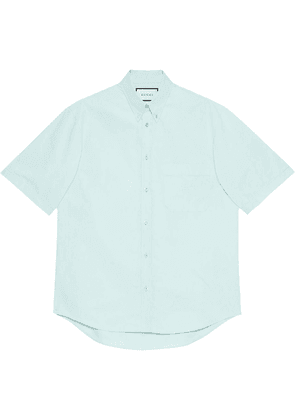 Gucci GG-embroidered shirt - Blue