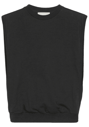 Gucci logo-print tank top - Black