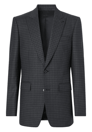 Burberry English Fit gingham suit - Black