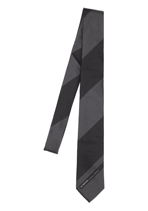 6.5cm Logo Striped Silk Tie