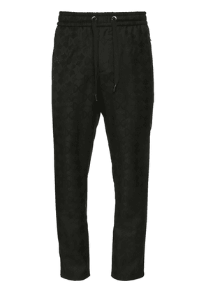 17cm Wool Jacquard Jogging Pants