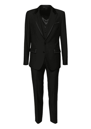 3-piece Velvet Wool Suit