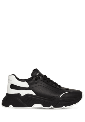 50mm Leather Running Sneakers