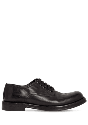 30mm Leather Lace-up Derby Shoes