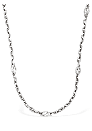 Interlocking G Long Chain Necklace