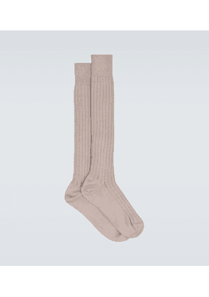 Exclusive to Mytheresa - ribbed cotton socks