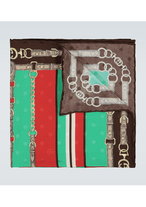 Exclusive to Mytheresa - silk jacquard pocket square