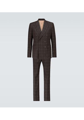 Exclusive to Mytheresa - GG windowpane suit