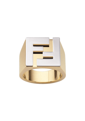Fendi FF motif ring - GOLD