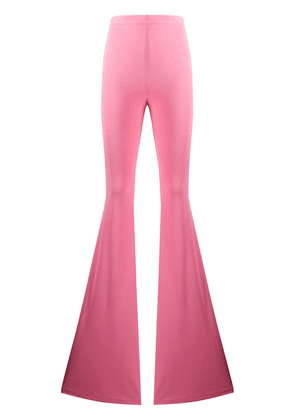 Balmain high-waisted flared trousers - PINK