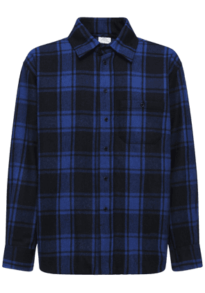 Check Padded Flannel Over Shirt