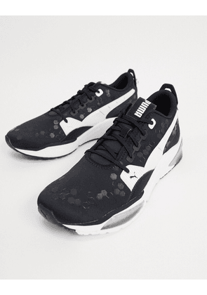 Puma LQD Cell optic trainers in black & white