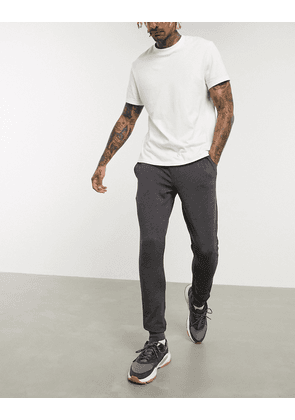 ASOS DESIGN super skinny joggers in charcoal-Grey