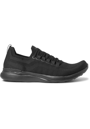 APL Athletic Propulsion Labs - Breeze TechLoom Running Sneakers - Men - Black