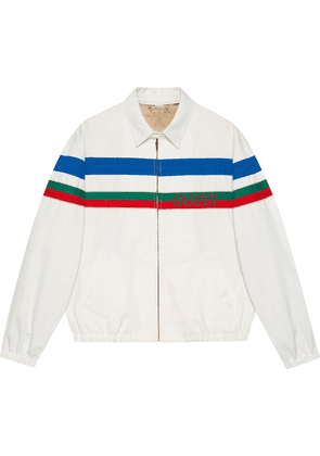 Gucci stripe-detail jacket - White