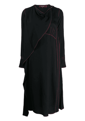 Sies Marjan draped neck dress - Black